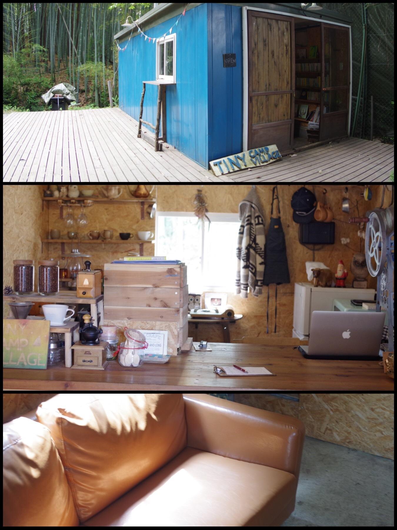 七沢温泉 タイニーキャンプビレッジ tiny camp village