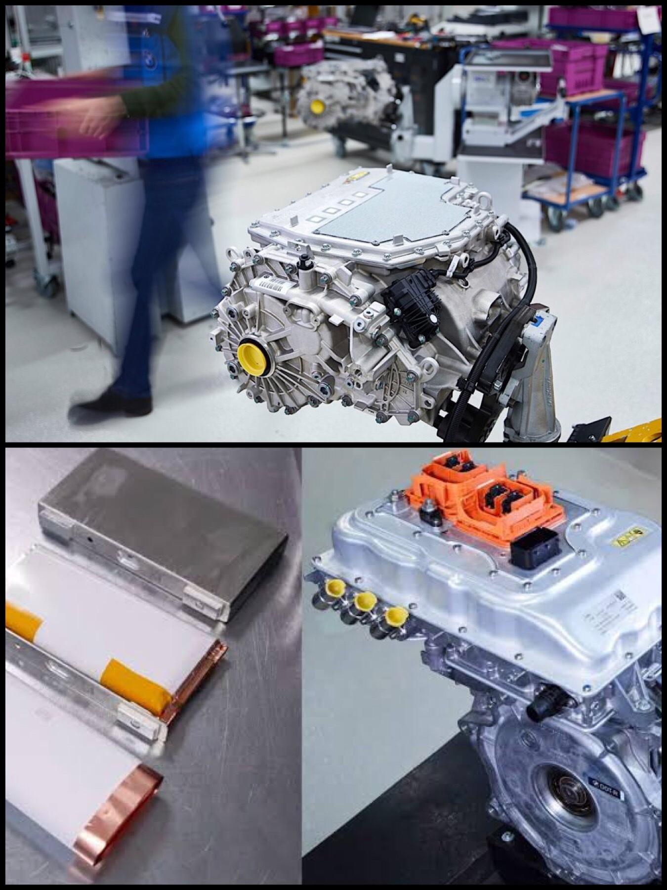 BMW iX3 EV パワートレイン