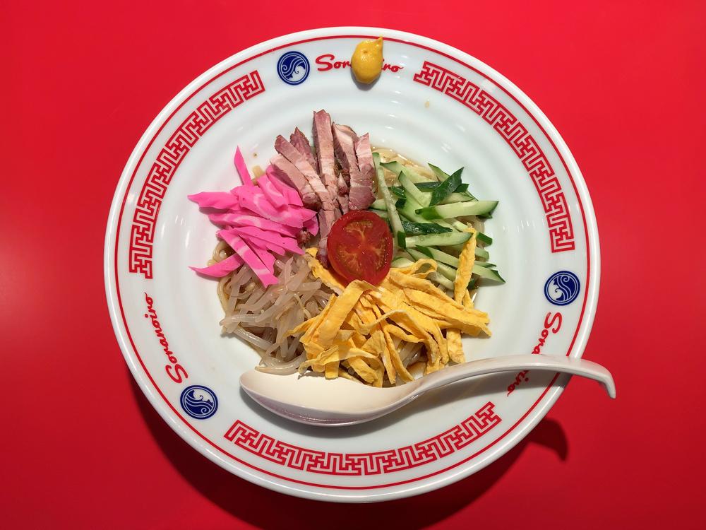 ソラノイロ食堂 -- 冷やし中華(限定)