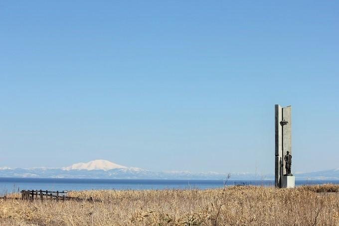 オホーツクの塔と海別岳