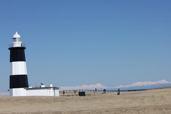 能取岬と連山