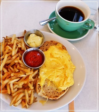 eggバーグ