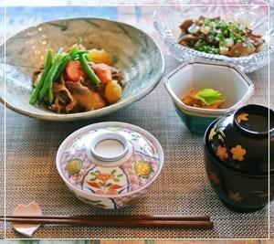 和食で夕飯