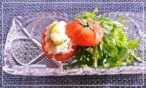 トマト&ポテトサラダ