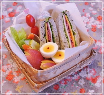 sandwichでお弁当