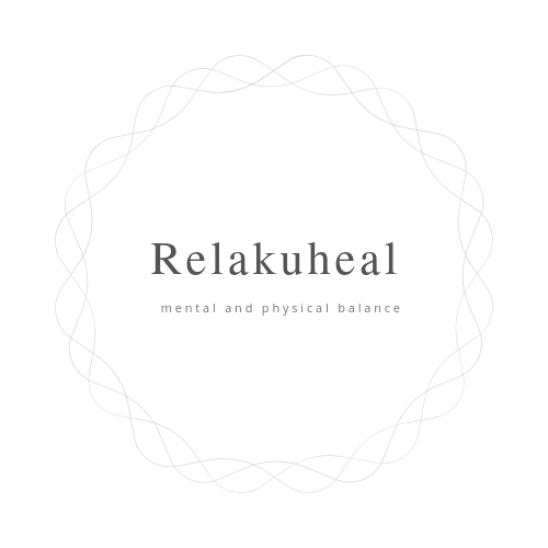 Relakuheal丸い形のロゴ