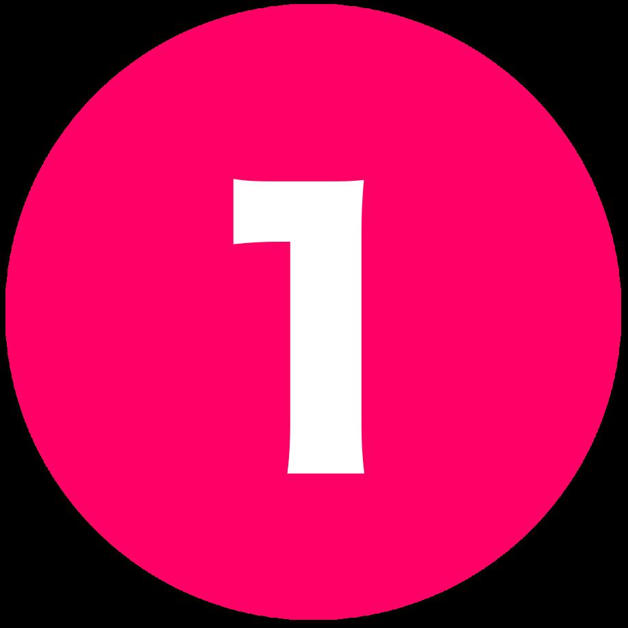 箇条書き丸数字1