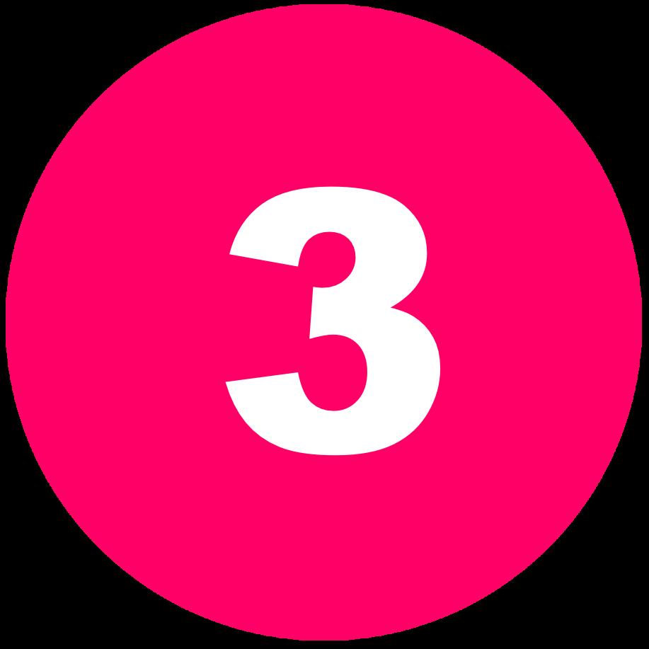 箇条書き丸数字3