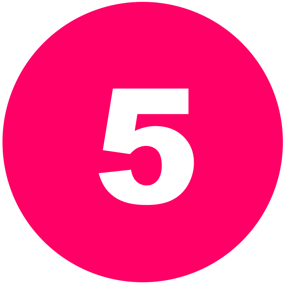 箇条書き丸数字5