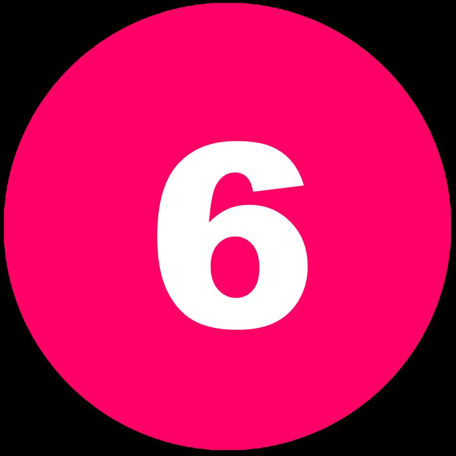 箇条書き丸数字6