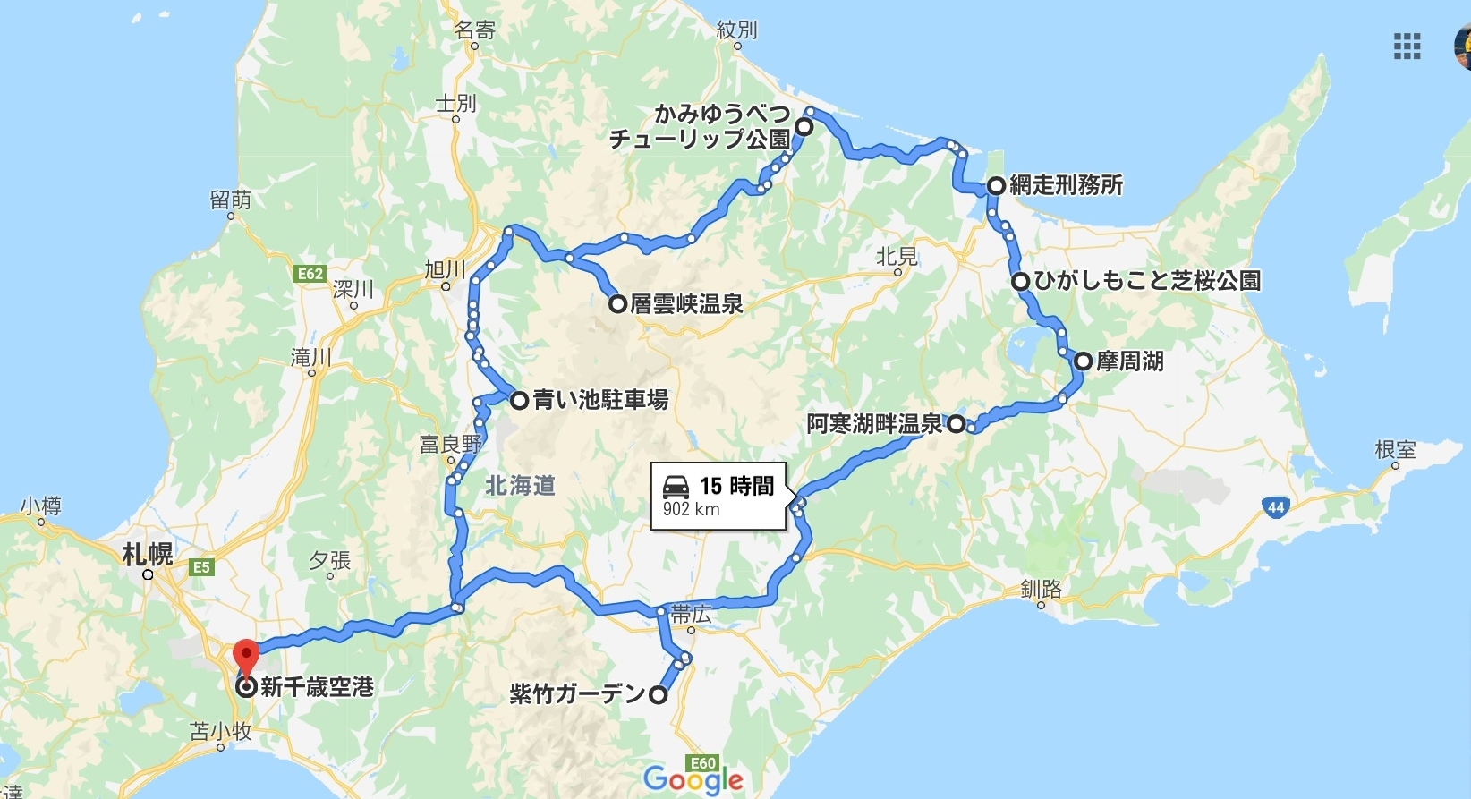 北海道花畑巡り