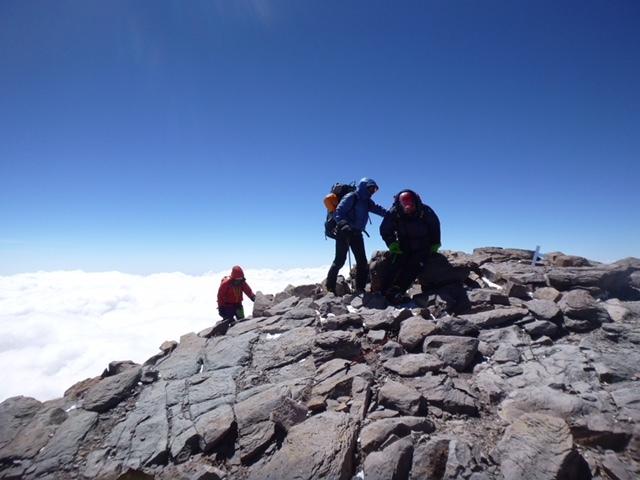 アコンカグア頂上