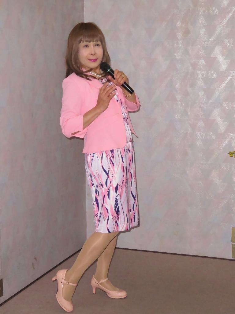 ピンクスーツカラオケ(5)