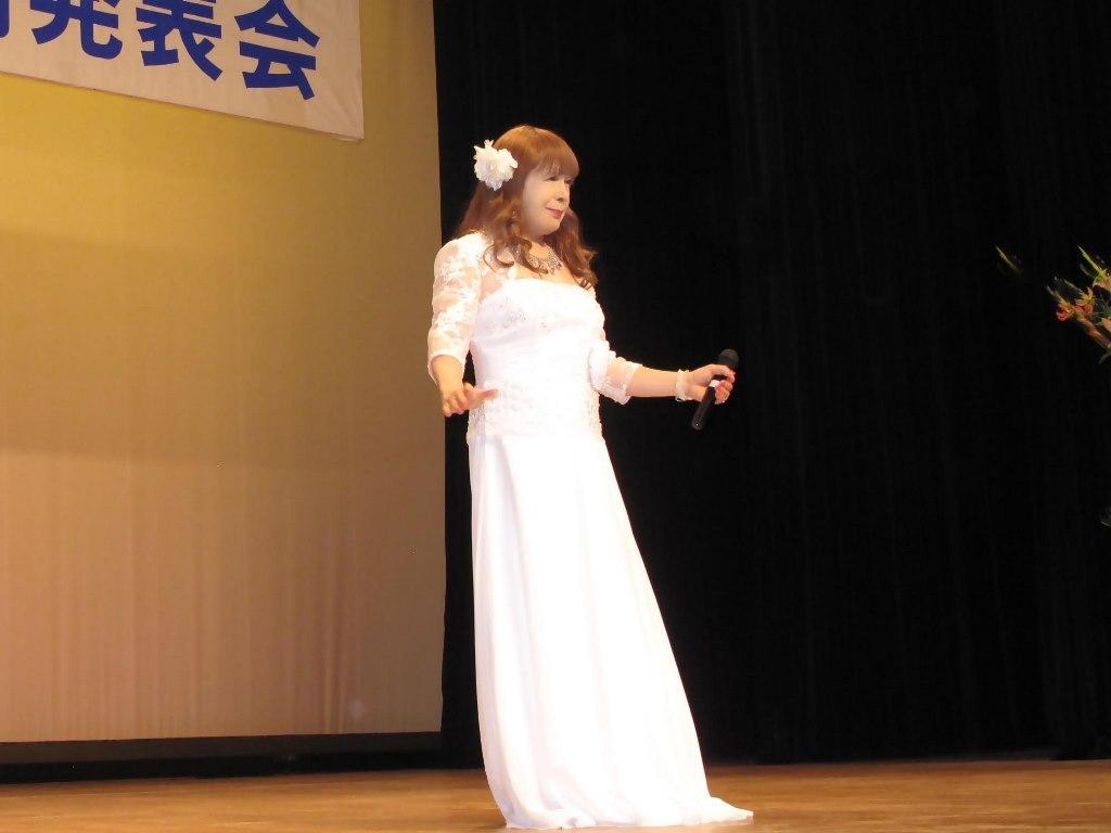 白ロングドレス舞台(7)