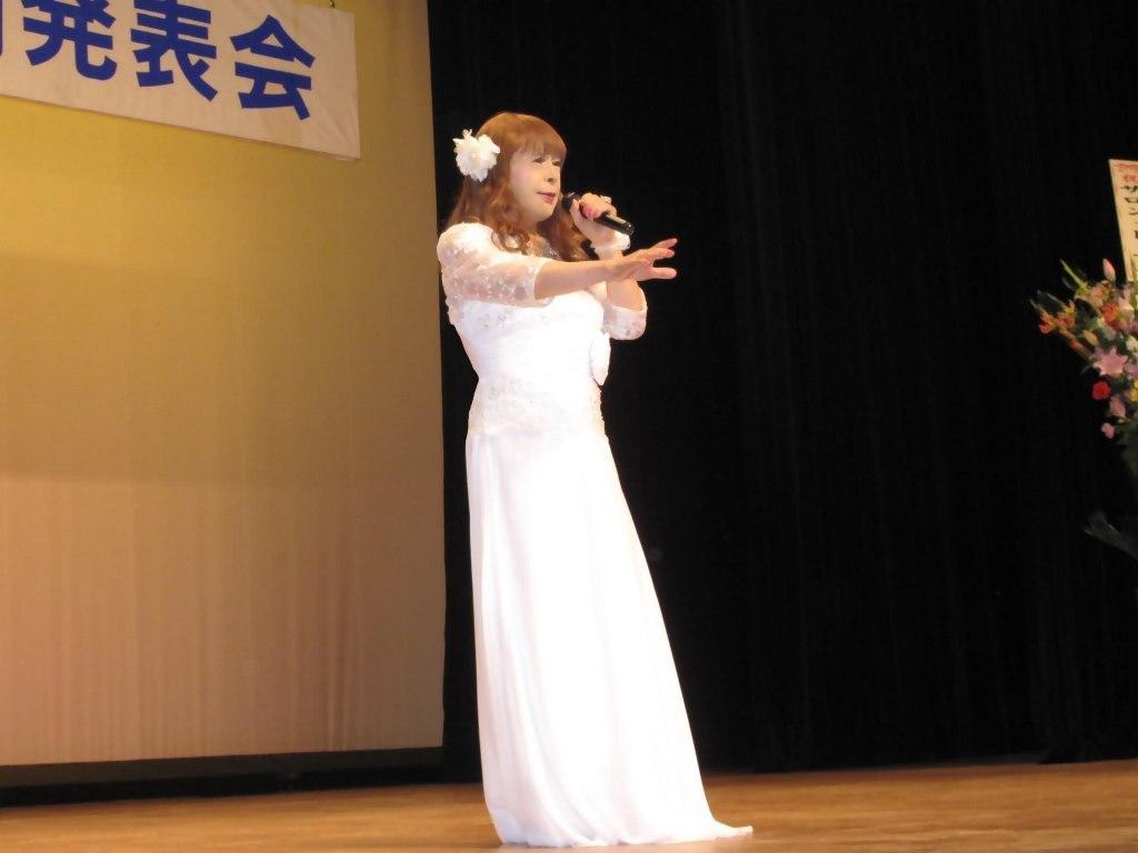 白ロングドレス舞台(9)