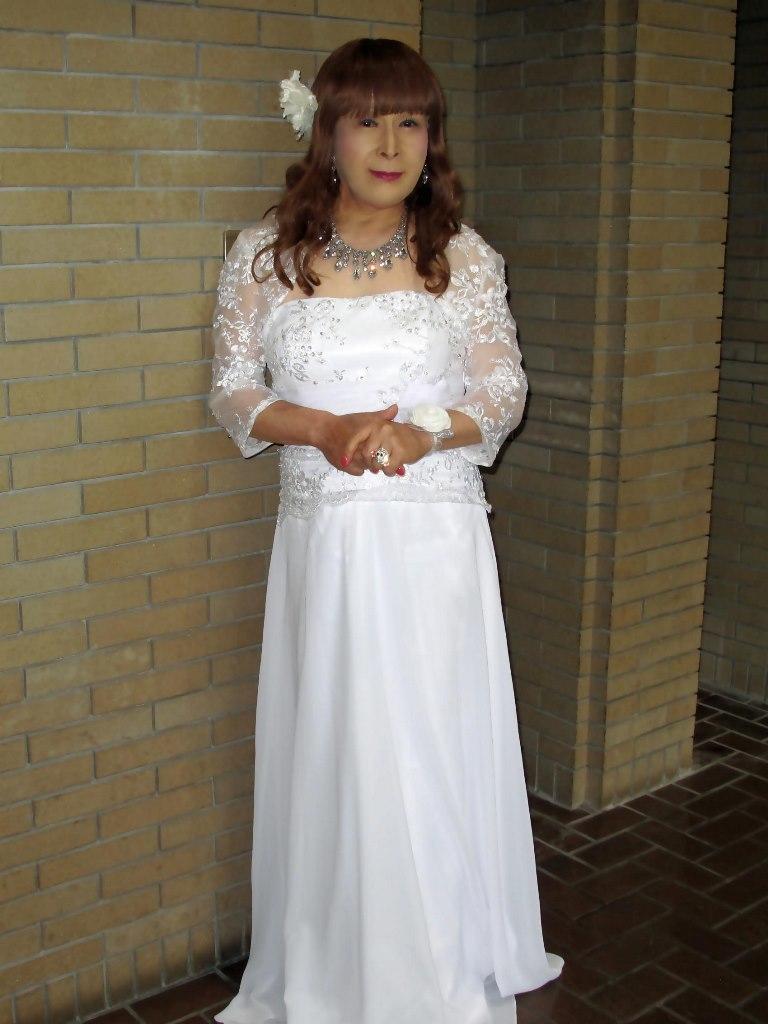 白ロングドレス会場スナップA(2)