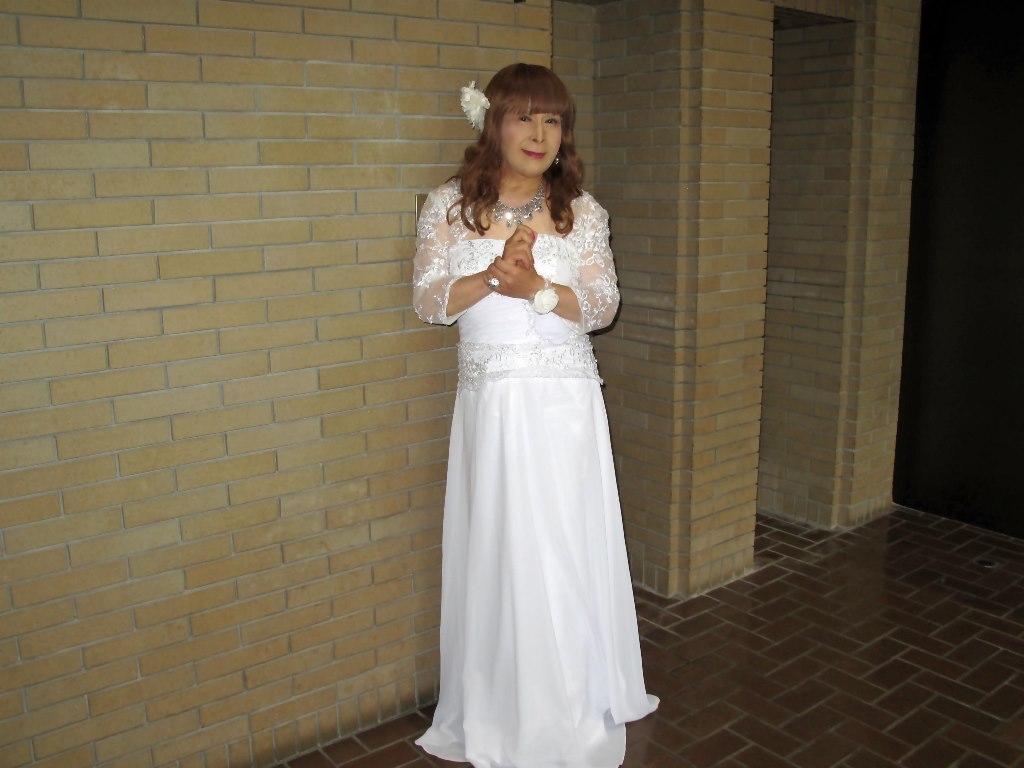白ロングドレス会場スナップA(3)