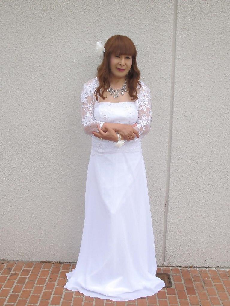 白ロングドレス会場スナップA(5)