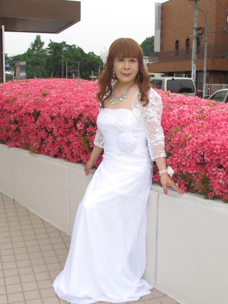 白ロングドレス会場スナップB(1)