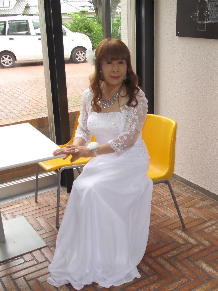 白ロングドレス会場スナップB(5)