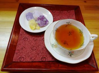 砂糖漬&紅茶