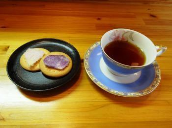 ビスケット&紅茶