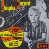 Claude Parent「デルフィーヌの歌 」 Chanson de Delphine