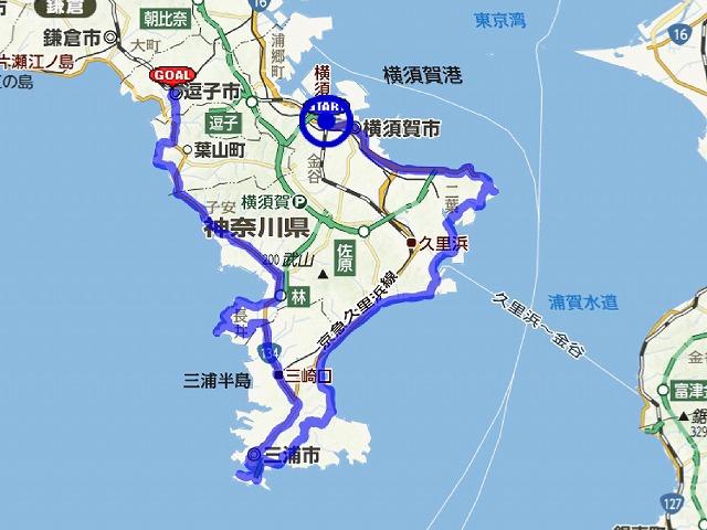 三浦半島地図doc