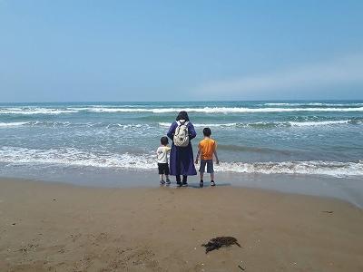千里浜海岸2