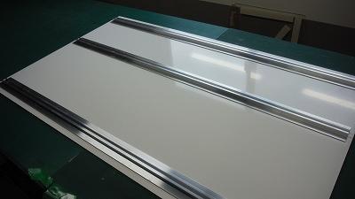 アルミ複合板(平リブ:裏面)1
