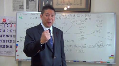 NHKから国民を守る党・立花孝志党首