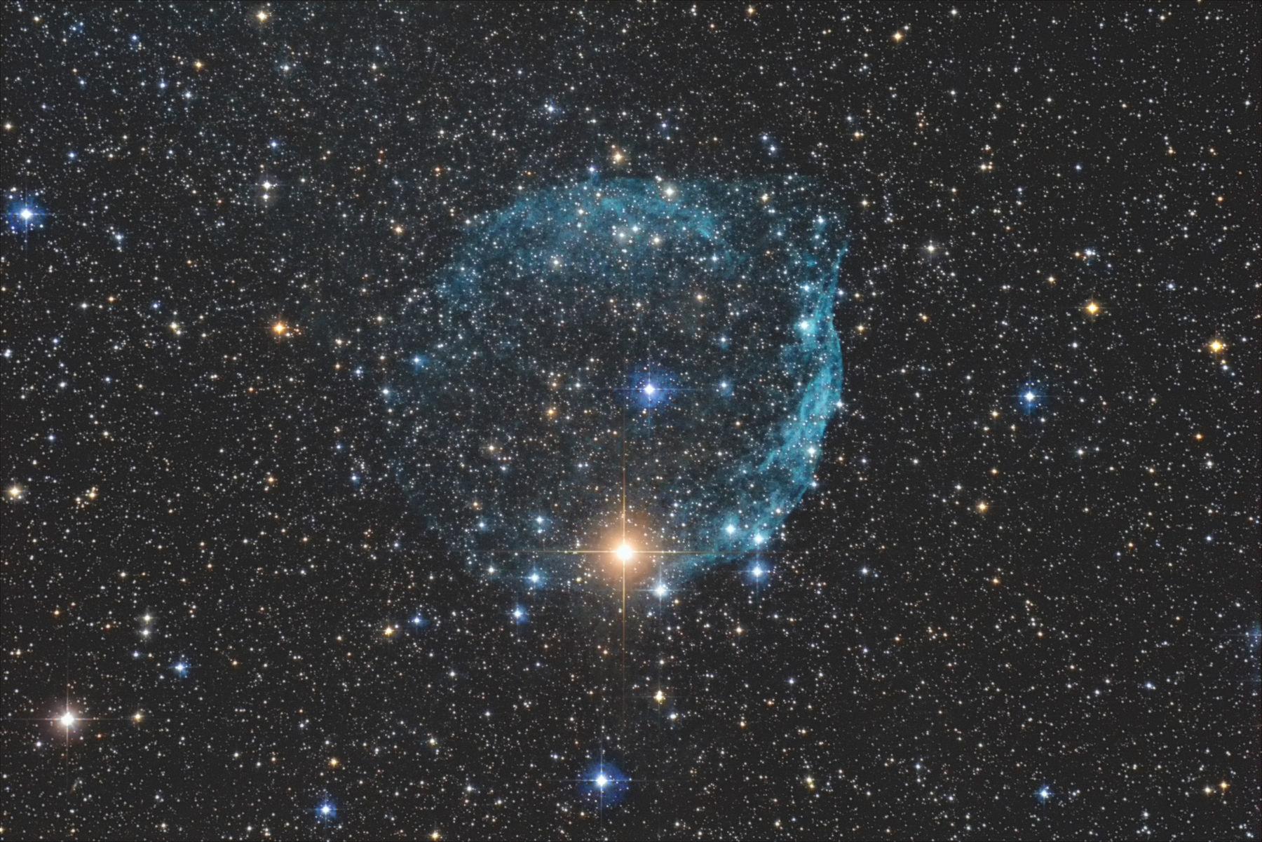 【星雲】Sh2-308 デジカメでミルクポット星雲(。-∀-)ノ