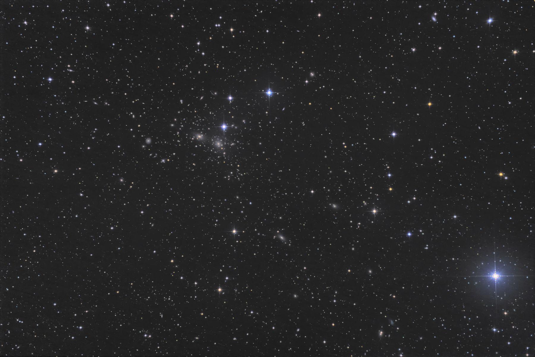 【銀河】ACO1656 かみのけ座銀河団