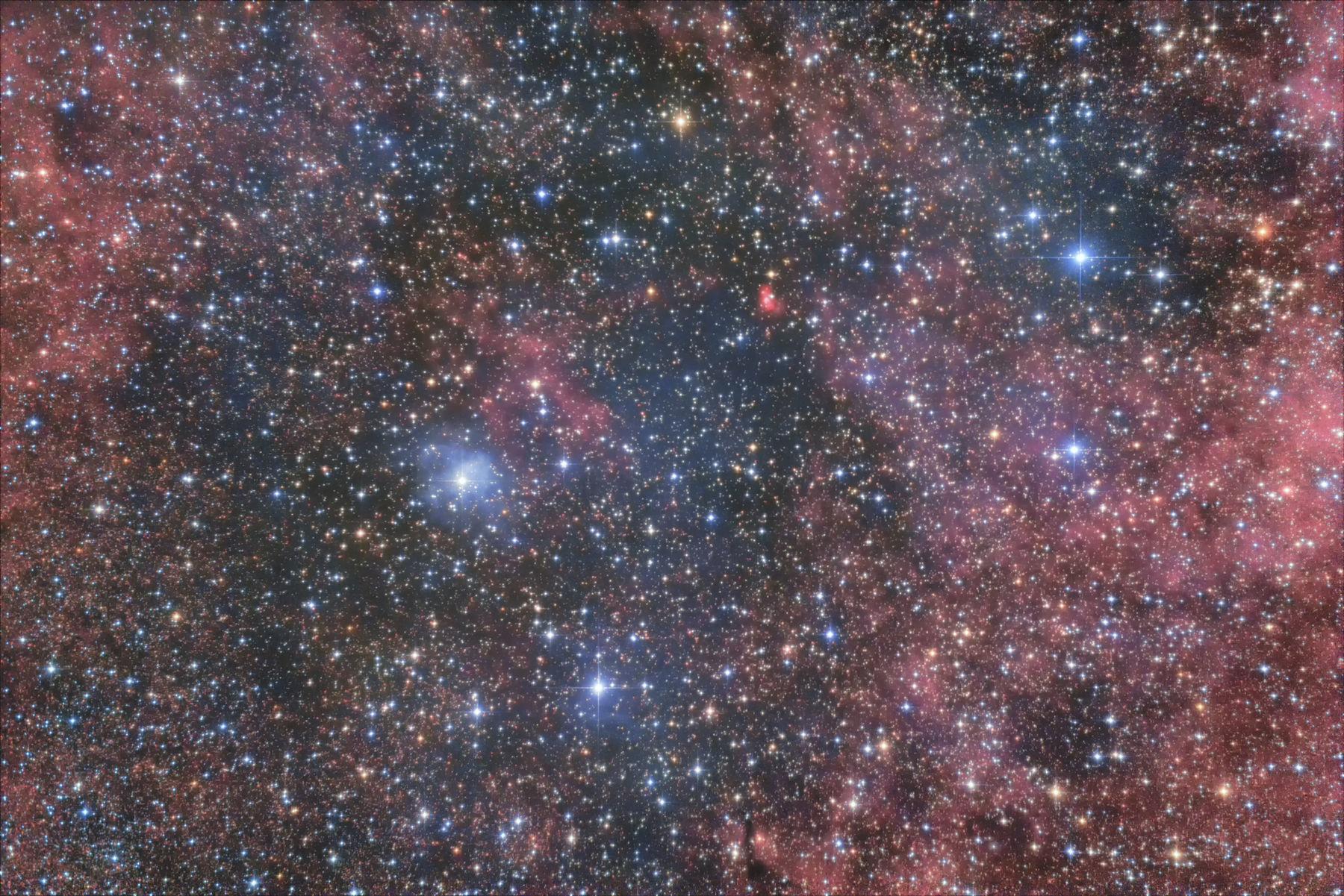 【星雲】はくちょう座 反射星雲 vdB133、 散光星雲 sh2-106