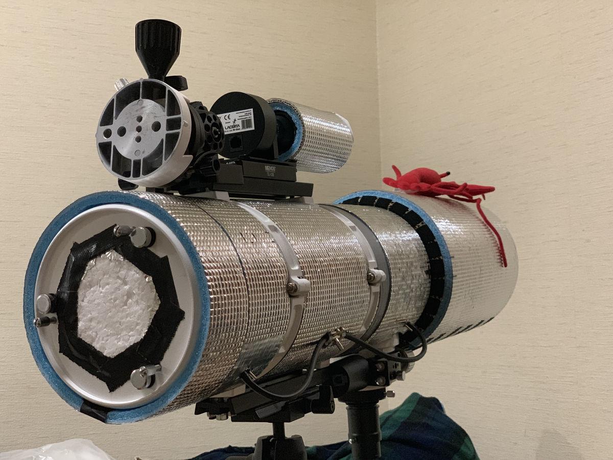 【機材】BKP130 鏡筒フード製作 & プチ改造