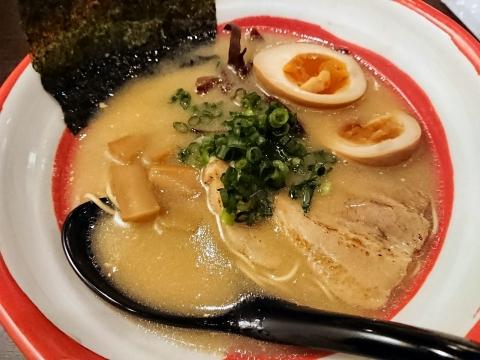 博多ラーメン細麺@一号艇