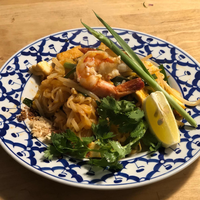 タイ料理教室パッタイ
