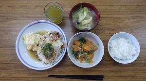 鶏ミンチと豆腐のハンバーグ11