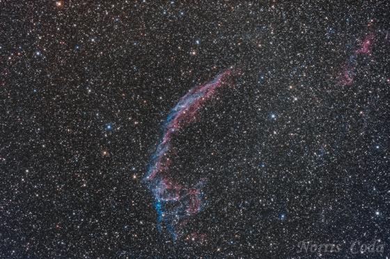 網状星雲(NGC6992)