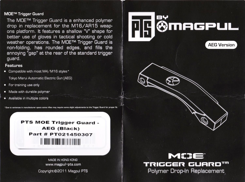 2 『PTS製』vs『レプリカ』トリガーガード検証!! MAGPUL PTS MOE TRIGGER GUARD AEG GET!! 次世代 M4 CQB-R 購入 取付 交換 比較 検証 レビュー!!