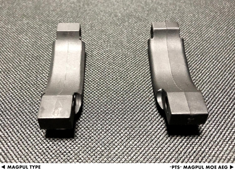 10 『PTS製』vs『レプリカ』トリガーガード検証!! MAGPUL PTS MOE TRIGGER GUARD AEG GET!! 次世代 M4 CQB-R 購入 取付 交換 比較 検証 レビュー!!