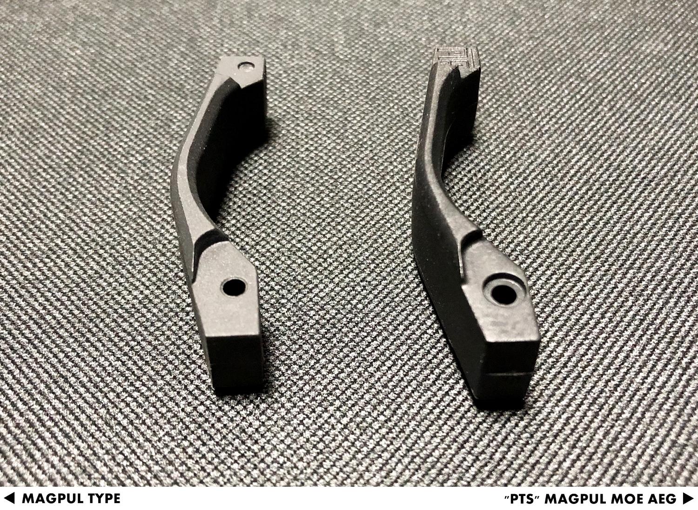 11 『PTS製』vs『レプリカ』トリガーガード検証!! MAGPUL PTS MOE TRIGGER GUARD AEG GET!! 次世代 M4 CQB-R 購入 取付 交換 比較 検証 レビュー!!