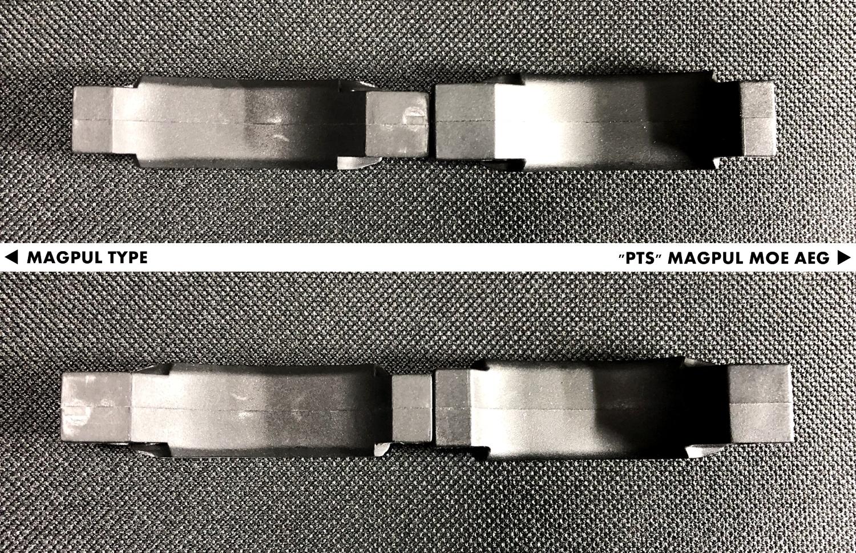 14 『PTS製』vs『レプリカ』トリガーガード検証!! MAGPUL PTS MOE TRIGGER GUARD AEG GET!! 次世代 M4 CQB-R 購入 取付 交換 比較 検証 レビュー!!