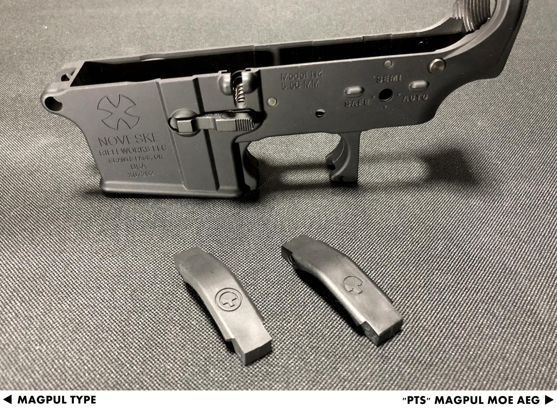 15 『PTS製』vs『レプリカ』トリガーガード検証!! MAGPUL PTS MOE TRIGGER GUARD AEG GET!! 次世代 M4 CQB-R 購入 取付 交換 比較 検証 レビュー!!
