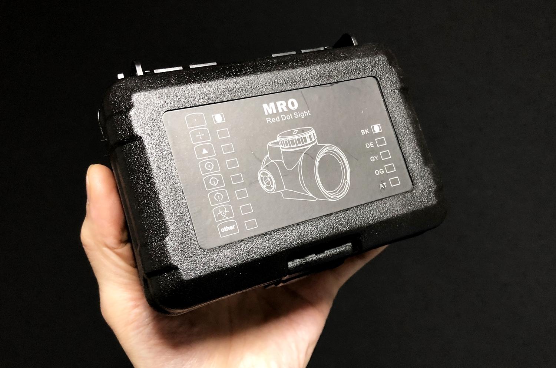 1 激安 Trijicon MRO トリジコン レプリカ レッド ドットサイト ダットサイト!! とりあえずレプリカ買ってみた!! 実物 MOR 検討中!! 購入 レビュー!!