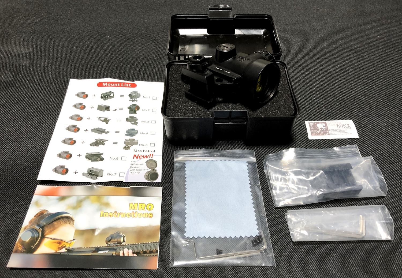 2 激安 Trijicon MRO トリジコン レプリカ レッド ドットサイト ダットサイト!! とりあえずレプリカ買ってみた!! 実物 MOR 検討中!! 購入 レビュー!!