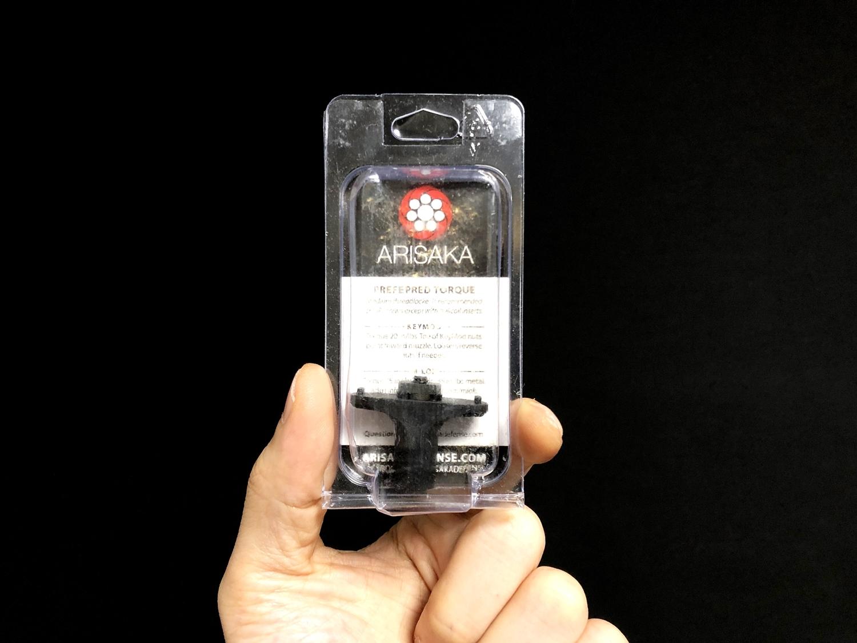 0 実物 ARISAKA DEFENSE LLC FINGER STOP M-Lok & KeyMod アリサカ フィンガーストップ ハンドストップ 購入 開封 取付 検証 比較 レビュー!!