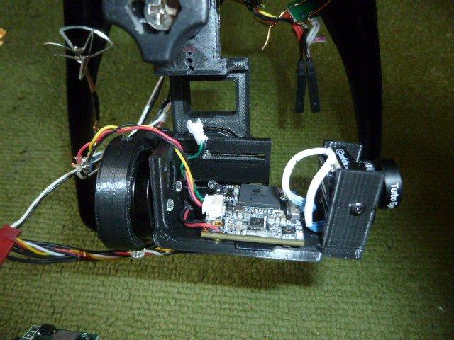 ブラシレスモーター2軸ジンバル2