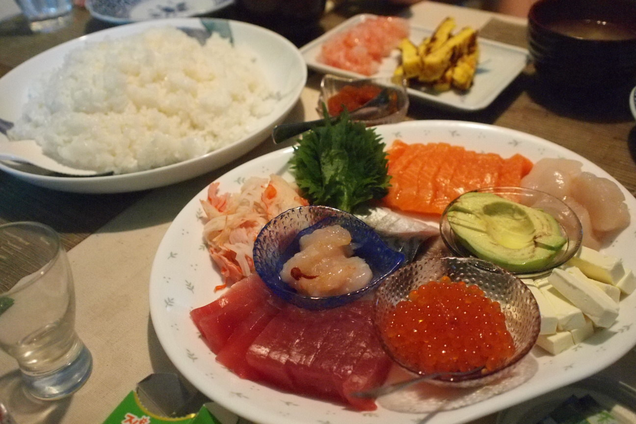 手巻き寿司!