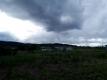 西の空の雨雲